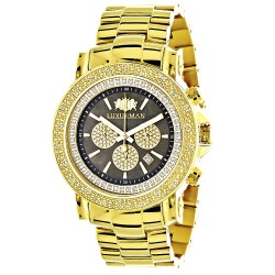Luxurman Men's Diamond Watch Escalade 2606