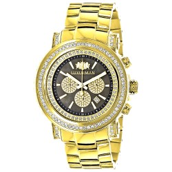 Luxurman Men's Diamond Watch Escalade 2611