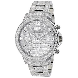 Luxurman Men's Diamond Watch Liberty 2634
