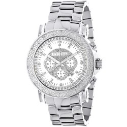 Luxurman Men's Diamond Watch Escalade 2638