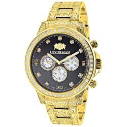 Luxurman Men's Diamond Watch Liberty 2639
