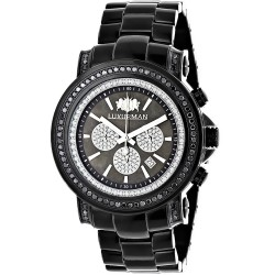 Luxurman Men's Diamond Watch Escalade 2465