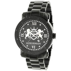 Luxurman Men's Diamond Watch Phantom 2660
