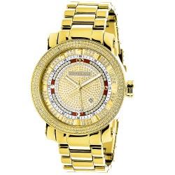 Luxurman Men's Diamond Watch Phantom 2663