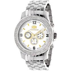 Luxurman Men's Diamond Watch Raptor 2694