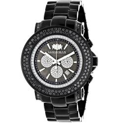 Luxurman Men's Diamond Watch Escalade 2695
