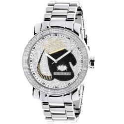 Luxurman Men's Diamond Watch  2701