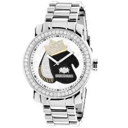 Luxurman Men's Diamond Watch  2702
