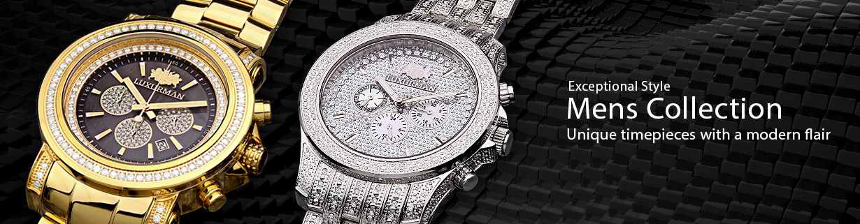 cefa45d74e0 Mens Diamond Watches